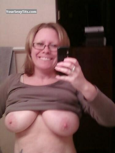 My Very big Tits Topless Selfie by Debbie
